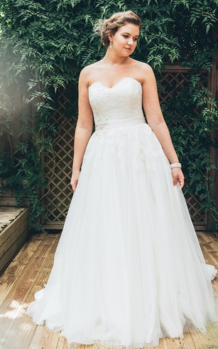 Wedding Dresses For Plus Size Brides - Dorris Wedding