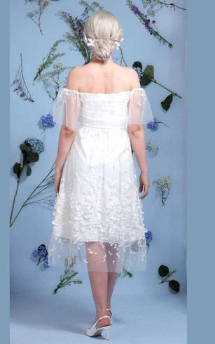 Informal Wedding Dress - Dorris Wedding