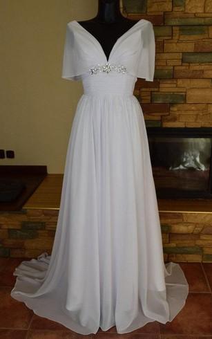 Greek Style Wedding Dresses   Grecian Wedding Dress - Dorris Wedding