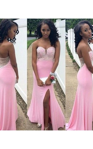 Cheap Trumpet Style Formal Dresses Fishtailmermaid Party Prom