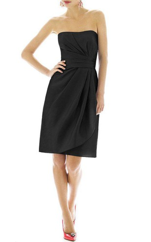 Short Black Bridesmaid Dresses Free Swatches Dorris Wedding