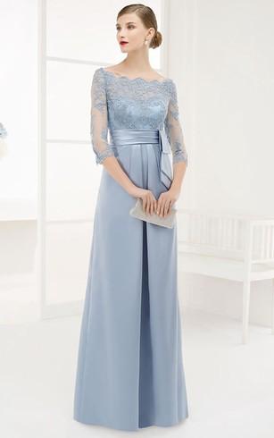 Royal Blue Formal Dresses   Navy Evening Prom Dress - Dorris Wedding