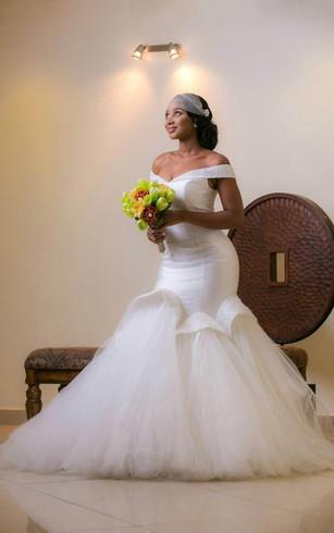 Stylish Mermaid Trumpet Wedding Gowns Fishtail Bridal Dresses