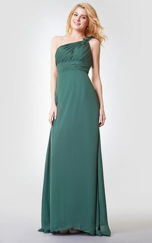Green Dress for a Bridesmaid