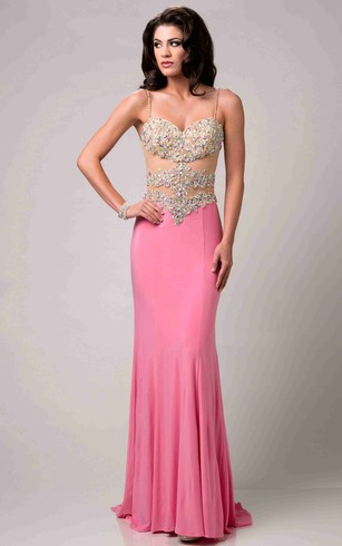 Long Formal Dresses with Straps