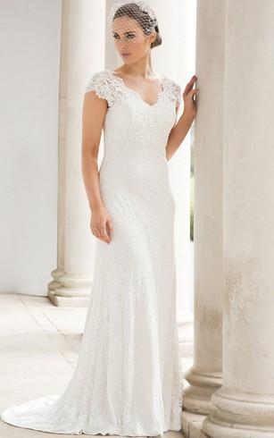 Cheap Outdoor Wedding Gown | Casual Garden Bridal Dresses - Dorris ...