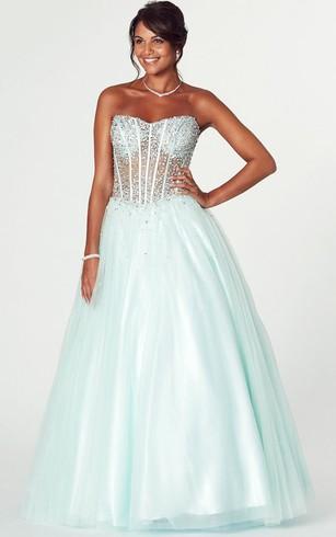 Princess Prom Gown | Cheap Ball Room Dresses - Dorris Wedding