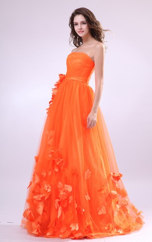 Aurantia Formal Dresses | Cheap Orange Formal Prom Dress - Dorris ...