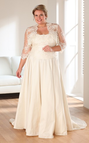 Full Figure Size Bridal Dresses | Wedding Dress For Plus Women ...