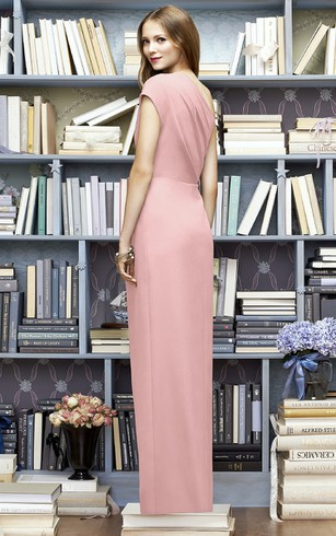 One-Shoulder Brilliant Sheath