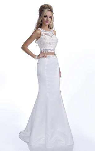 Cheap Long White Prom Evening Dress | Long Prom Dresses With White ...
