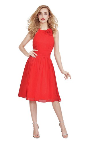 Short Red Prom Dresses | Red Party Dresses - Dorris Wedding