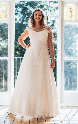 Inexpensive Plus Size Wedding Dresses   Big Sale - Dorris Wedding