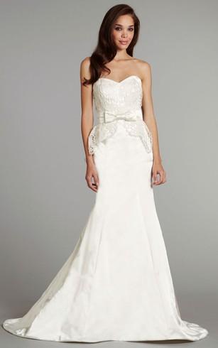 Detachable Style Wedding Gown, Removable Bridal Dress - Dorris Wedding