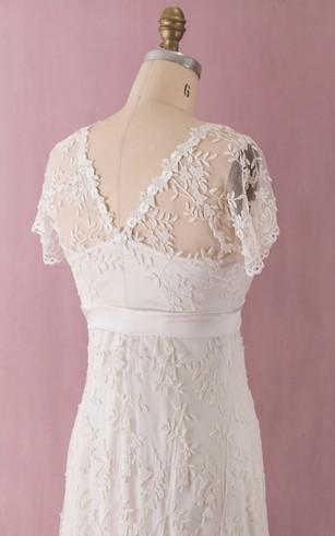 Western Bridal Dresses   Rustic Wedding Dress - Dorris Wedding