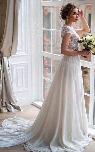 Flowy Style Bridal Gowns, Flowy Dresses for Wedding - Dorris Wedding