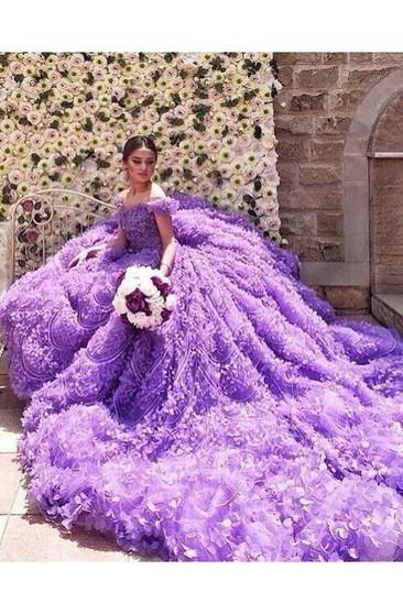 Light Purple Wedding Gowns Lavender Lilac Bridal Dress Dorris