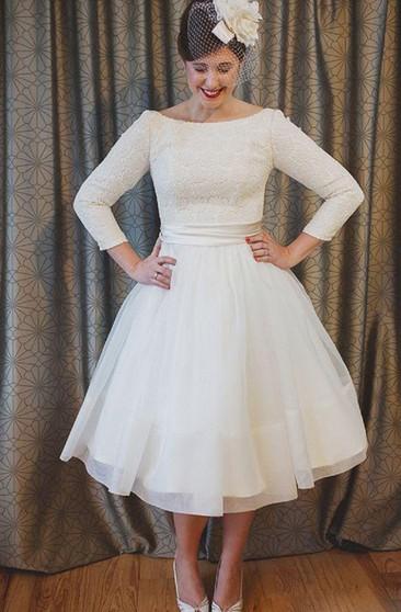 Plus Figure Casual Bridal Dresses, Large Size Style Wedding ...