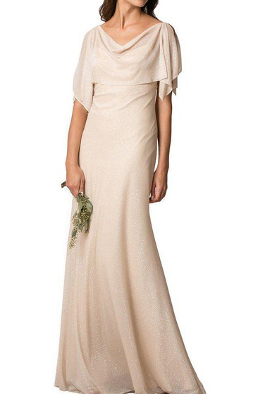 Elegant Chiffon Floor-length Bridesmaid Dress
