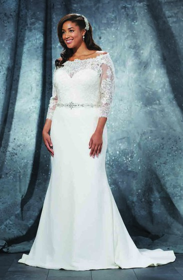 Affordable Plus Figure Wedding Gowns, Cheap Large Size ...