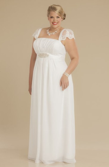 Courthouse Bridal Dress | Casual Wedding Gowns - Dorris Wedding
