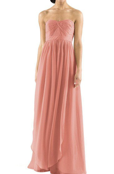 Convertible Chiffon Bridesmaid Dress with Ruching