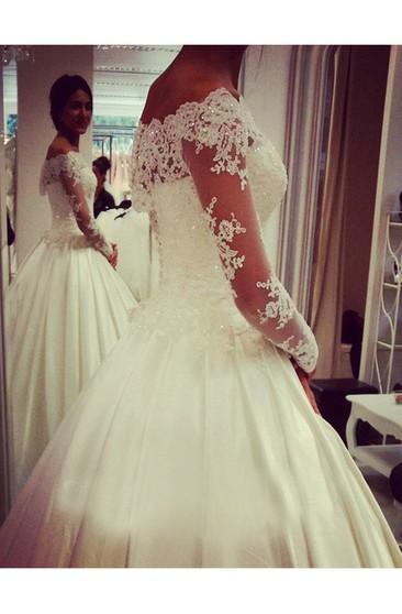 Mermaid Silhouette Wedding Dress - Dorris Wedding