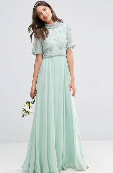 Plus Size Bridesmaid Dresses With Sleeves - Dorris Wedding