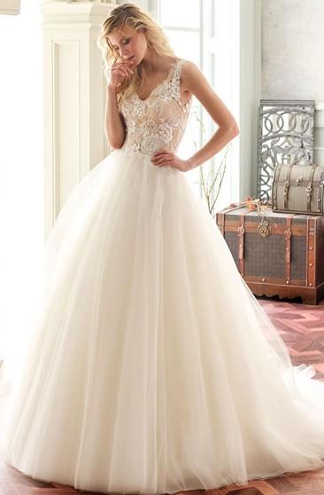 Alice In Wonderland Wedding Dress - Dorris Wedding