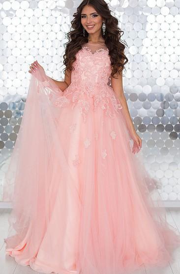 a4b9de09621 Scoop A-Line Appliques Bowknot Sashes Short Prom Dress - Dorris Wedding