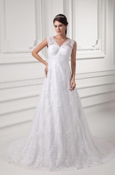 Best Wedding Dress Style For Plus Size - Dorris Wedding