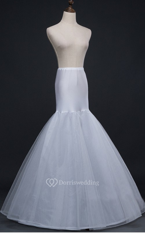 6f9c52b5ba Mermaid 2 Tiers Tulle Wedding Dress Petticoat - Dorris Wedding