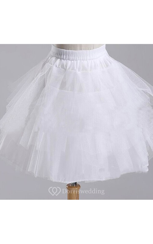 e433a184f4 Short Puff 3 Layers Tulle Prom Short Dress Petticoat - Dorris Wedding