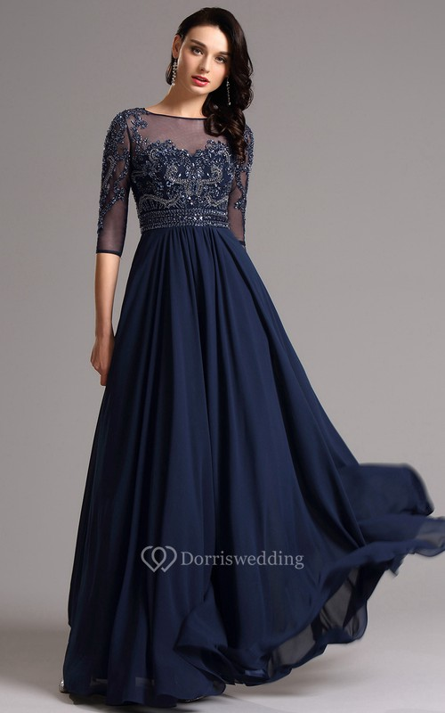 Royal Blue Formal Dresses Navy Evening Prom Dress Dorris Wedding