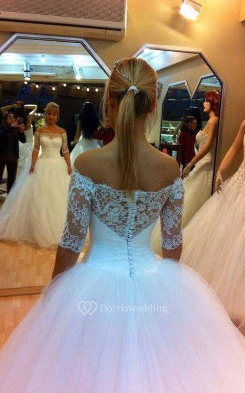 Eye-Catching Strapless Ball Gown Floor-Length Dresses With Bowknot