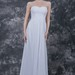 Chic Sweetheart Bodice Long Simple Wedding Dress
