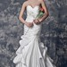 Lustrous Pleated Sweetheart Mermaid Satin Wedding Gown With Embroidery