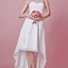 Fresh Look Sweetheart Hi-Lo Split Skirt Chiffon Dress