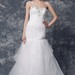 Ethereal Soft-ruched Crystal-beaded Mermaid English Tulle Wedding Gown