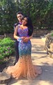 Luxurious Two Pieces Prom Dresses 2016 Mermaid Tulle With Crystals