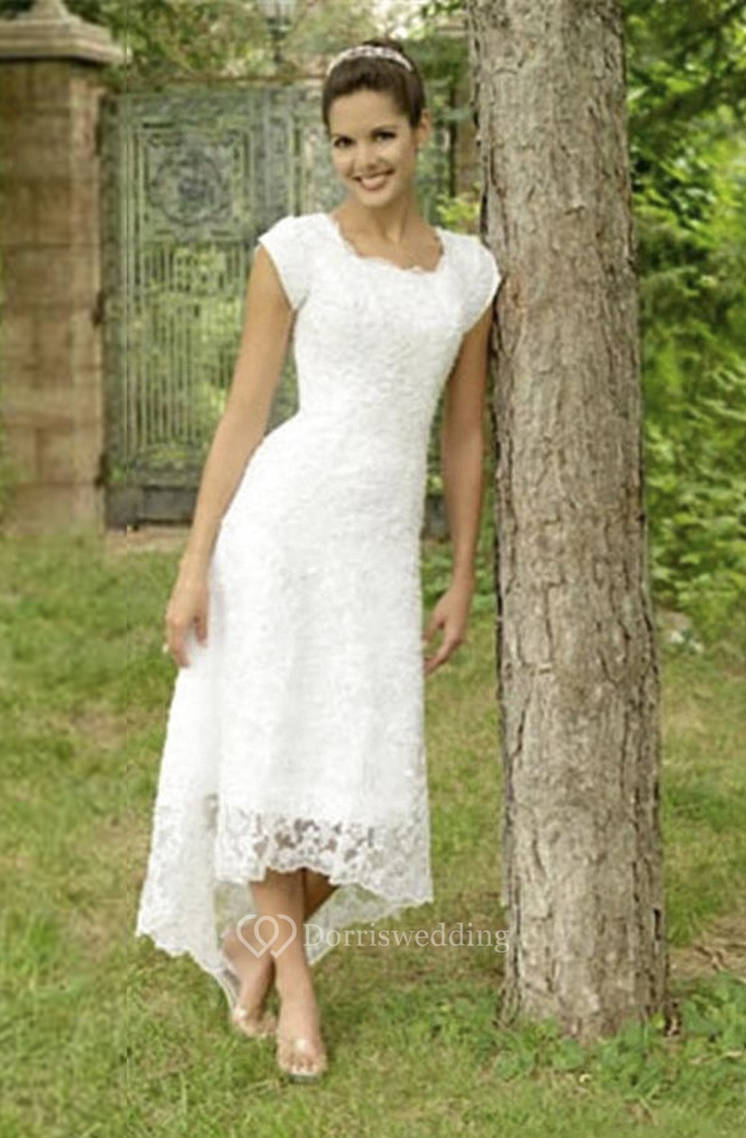 Modest Elegant Lace Wedding Dress