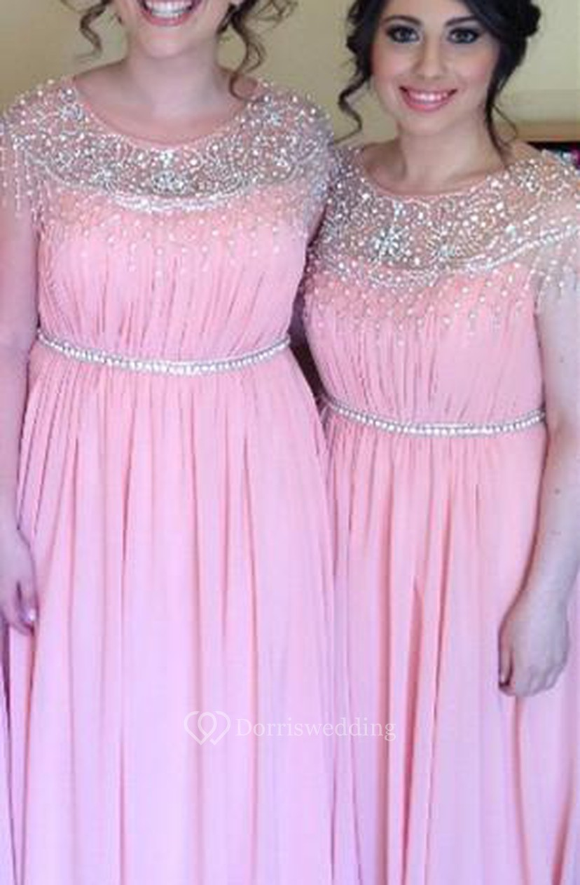 64caae9a5fc0b Bridesmaid Dresses Chiffon Pink - Aztec Stone and Reclamations