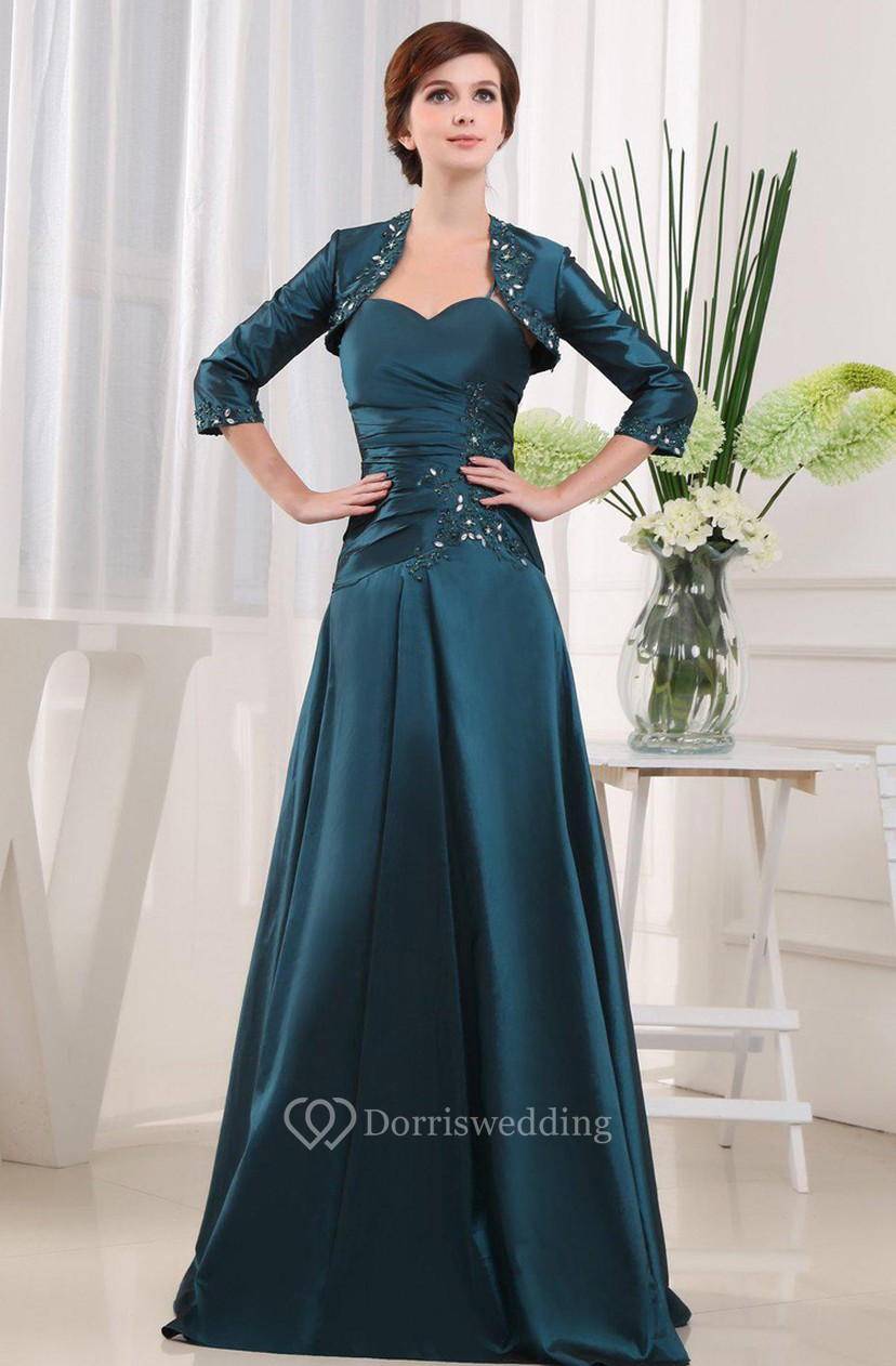 c54326dd53c Sleeveless A-line Dress With Matching Jacket Style - Dorris Wedding