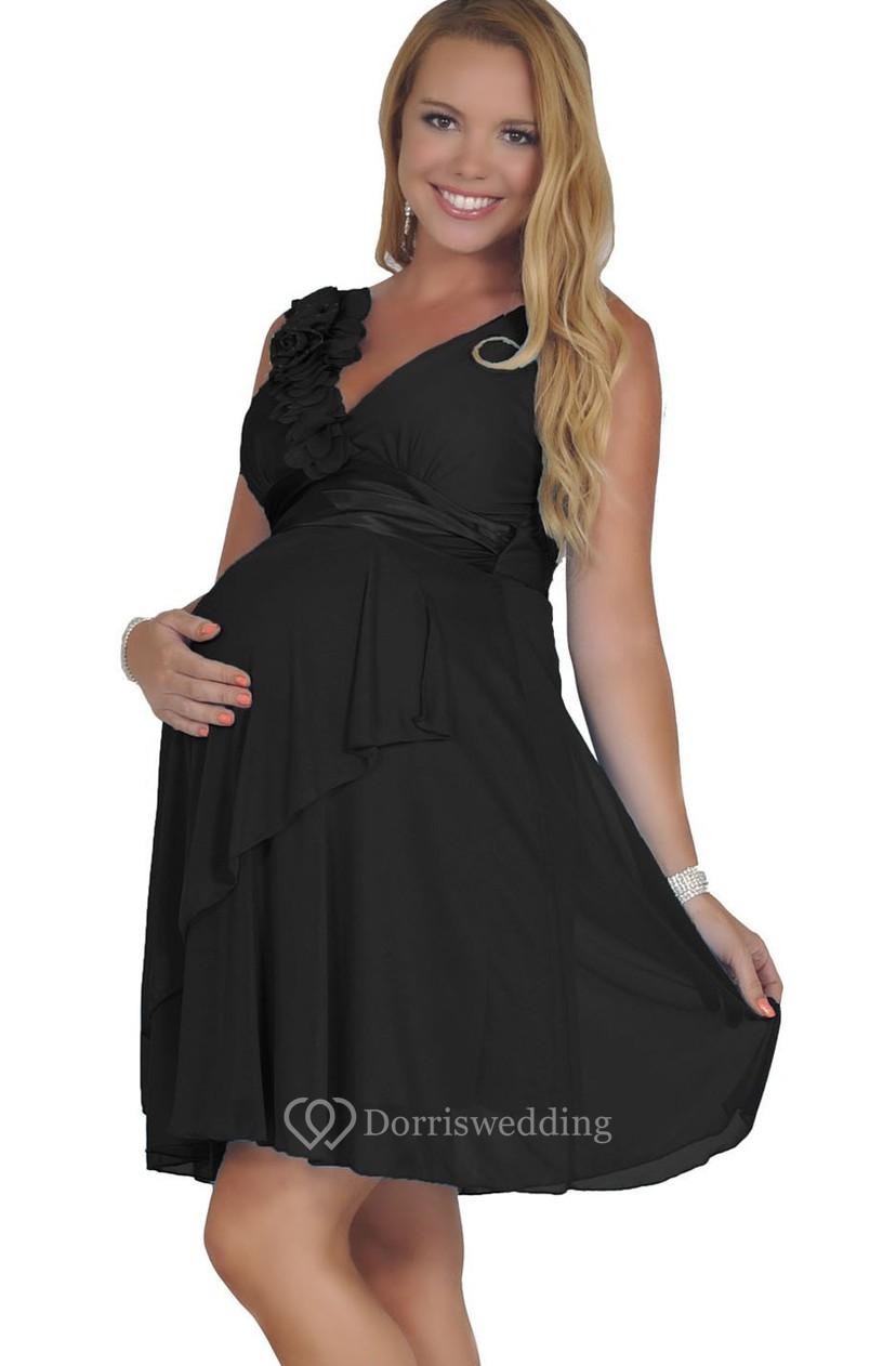 Girls Short Chiffon Dress