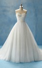Sweetheart Ball Gown With Crisscross Ruching