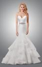 Sweetheart Mermaid Wedding Dress With Ruffled Skirt