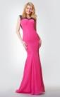 Sweetheart A-line Long Chiffon Dress With Criss Cross Ruching