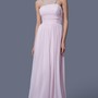 Feminine Strapless Empire-waisted Prom Gown with Pleats
