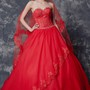 Royal Beaded Lace Train Wedding Ball Gown