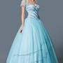 Elegant Heavily Jewel-beaded Layered Tulle Quinceanera Ball Gown With Bolero